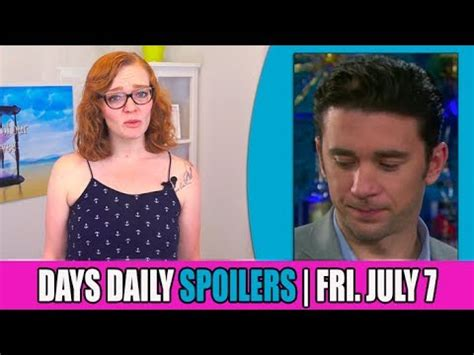 days of our lives cast updates and spoilers why true o days of our lives dool daily spoilers update for friday