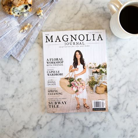 magnolia farms book the magnolia journal spring 2017 chip joanna gaines official