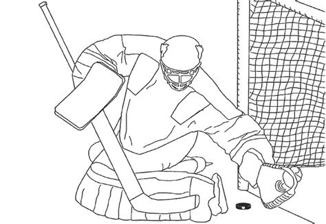 montreal canadiens goalie coloring pages coloring pages