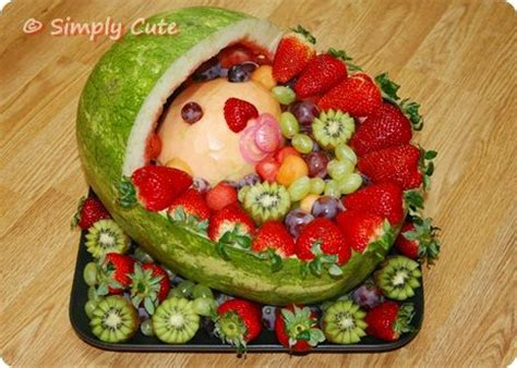 Fruit Centerpieces For Baby Shower by 39 Best Images About Baby Shower Fruit Tray Ideas On