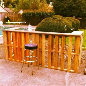 Diy Bar 7 Creative Diy Outdoor Pallet Bar Ideas Pallets Designs
