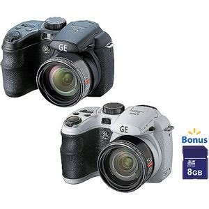 your choice: ge x500 16mp ultrazoom digital camera with