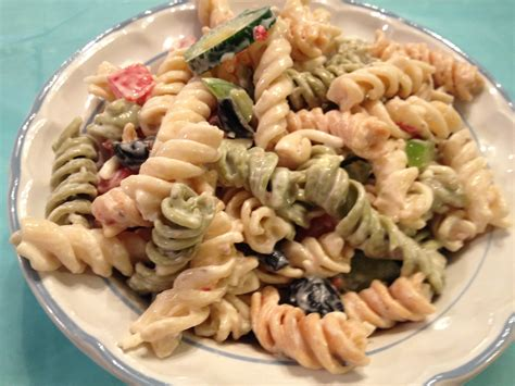 creamy pasta salad recipe creamy pasta salad recipes www imgkid com the image