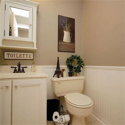 Modern Bathroom Vanities Toronto - white wainscoting tan walls bath remodeling ideas pinterest vanities wall colors and faucets
