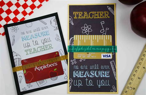 printable gift card barnes and noble free printable teacher appreciation gift card measures