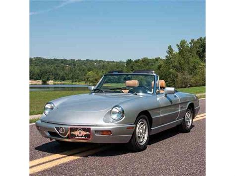 1991 Alfa Romeo Spider by 1991 Alfa Romeo Spider For Sale On Classiccars 4