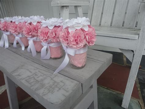 bridal shower table centerpieces paper peony centerpieces paper carnation wedding by