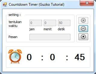 membuat video berjalan mundur membuat waktu mundur atau countdown timer dengan c guzko