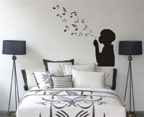 music decals for bedroom music room idea vinyl projects pinterest