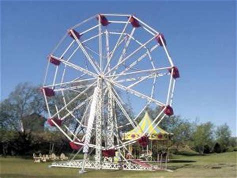backyard ferris wheel farm show backyard carnival rides provide fun for all