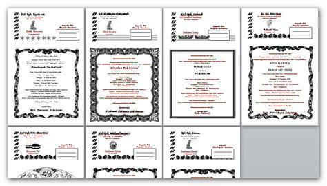 contoh undangan walimah haji contoh isi undangan