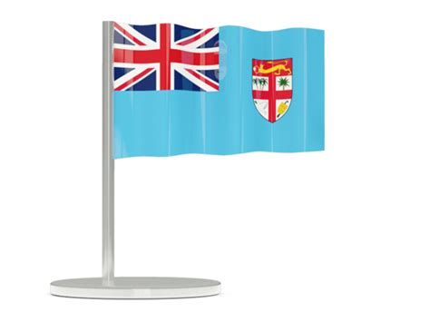 design graphics fiji flag pin illustration of flag of fiji