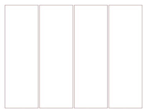 Free Printable Blank Bookmark Templates Blank Bookmark Template Intended For Bookmark Template Bookmark Template Publisher