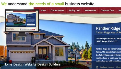home design website design builder