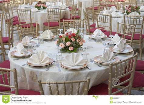 wedding table settings photos wedding table stock image image of dinig flowers