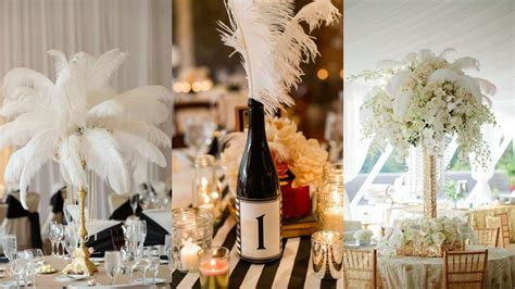 wedding table decorations ideas centerpiece uk 22 ideas for a great gatsby wedding theme guides for brides