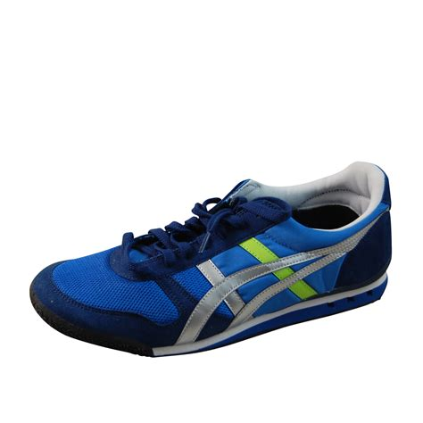 asics tiger running shoes asics mens onitsuka tiger ultimate 81 blue running shoes
