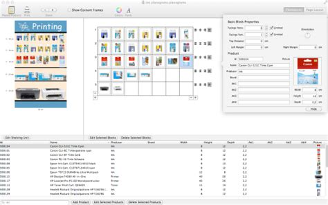 Planograms For Mac Free Download And Software Reviews Cnet Download Com Planogram Template Excel