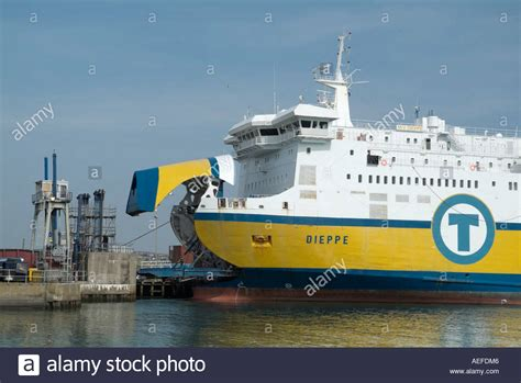 boat transport sussex transmanche ferries newhaven dieppe ferry docked at
