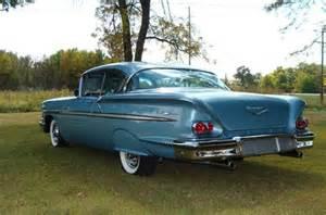 1958 chevrolet bel air 2 door hardtop 348 ci automatic