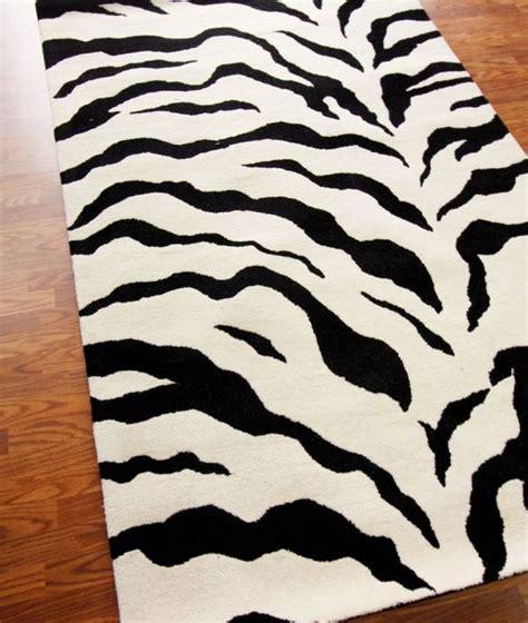 animal print rugs wholesale animal prints black white contemporary zebra area rug carpet poly olefin ebay