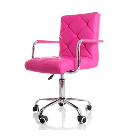 varossa office chair executive pu leather computer chair home work study pink ebay