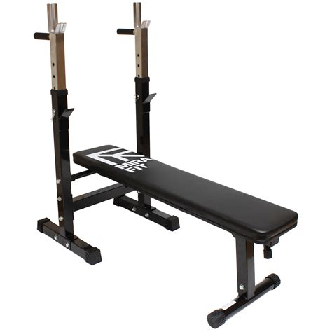 flat bench chest mirafit adjustable folding flat weight bench dip station
