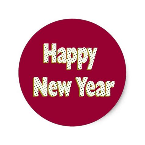 new year song classic happy new year classic sticker zazzle