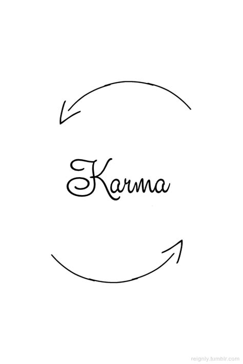 Karma Love Quotes Tumblr