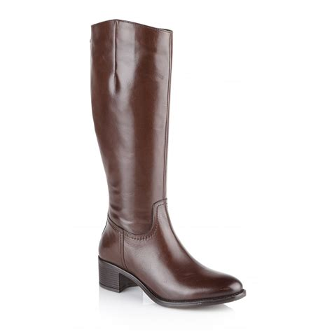 brown knee high boots buy ravel pickering knee high boots in brown