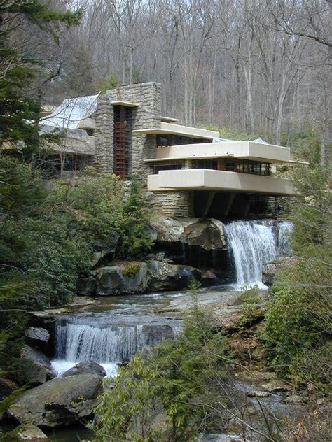 falling water frank lloyd wright waterfall house floor plans