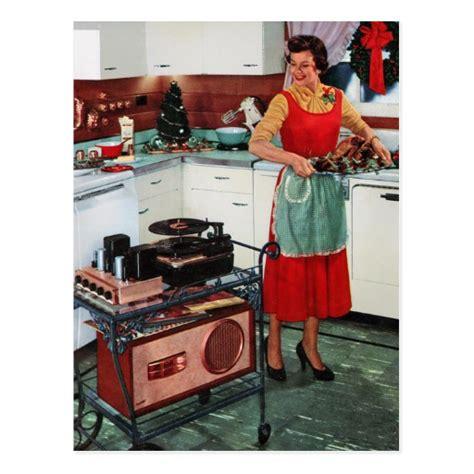 femme au foyer 1950 r 233 tro femme au foyer vintage des 233 es 1950 dans cartes