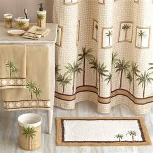 palm shower curtain better homes and gardens palm decorative bath collection