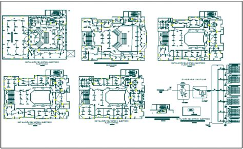 electrical layout dwg download electrical layout plan of a office dwg file