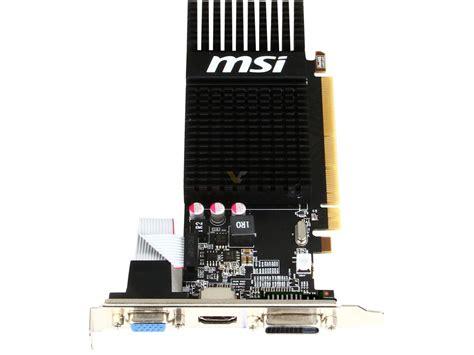Vga Msi R5 230 1gb Ati Radeon We209 msi radeon r5 230 1gb lp videocardz net
