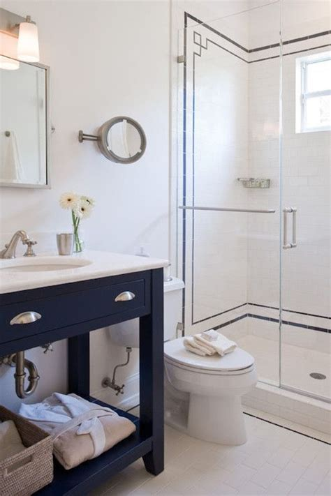 navy and white bathroom ruth richards interiors bathrooms navy and white