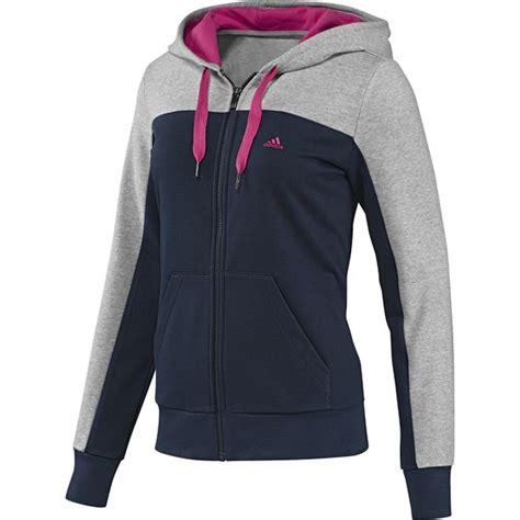 imagenes sudaderas deportivas chaqueta de ch 225 ndal con capucha essentials mujer adidas