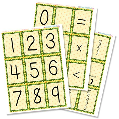 printable number picture cards free printable counting cards 25 games tip junkie
