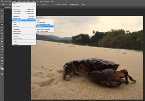 How To Straighten A Picture In Photoshop Cs6