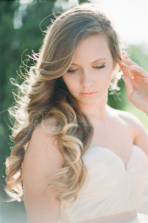 bridal hairstyles long hair side wedding hairstyles for curly hair how to style page 2