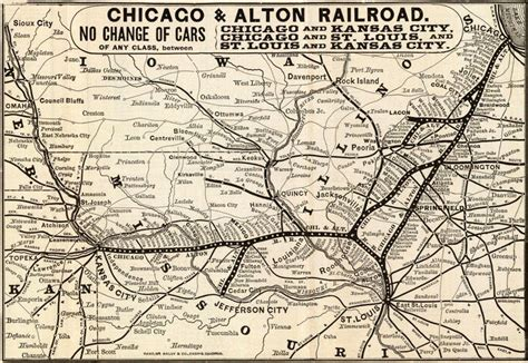 chicago railroad map chicago alton railroad home