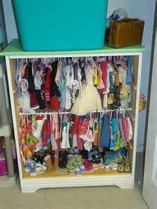 doll closet from bookshelf american dolls