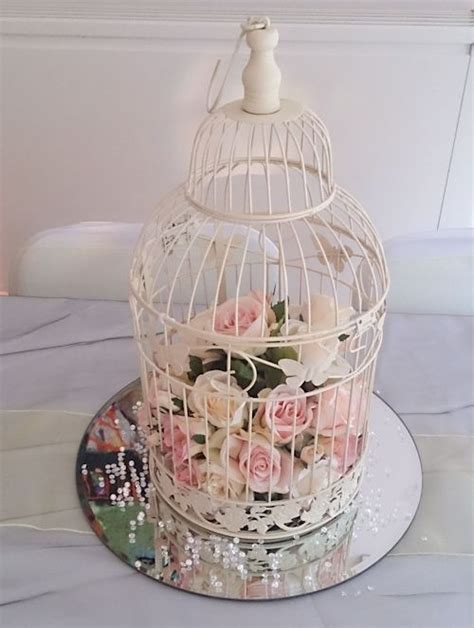 434 Best Birdcages With Flowers Images On Pinterest Birdcage Centerpieces Weddings