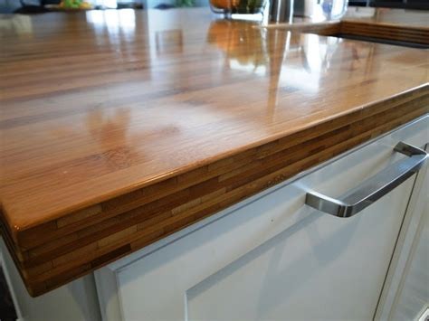 bamboo butcher block island 17 best images about bamboo paper composite countertops on