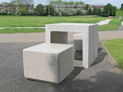 concrete bench seats core square concrete bench independent seating block