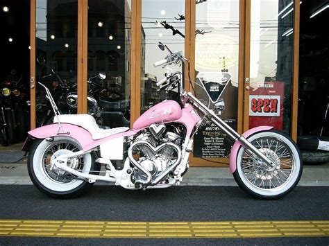 Motorrad Honda Pink by Pink Honda Motorcycle Check Out The Multiple Chrome