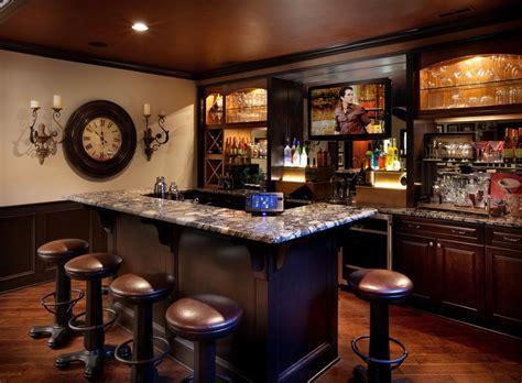 basement bar ideas craftsman  traditional floor