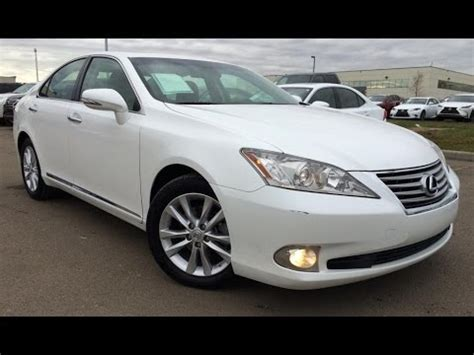 lexus white 2010 pre owned white 2010 lexus es 350 navigation package