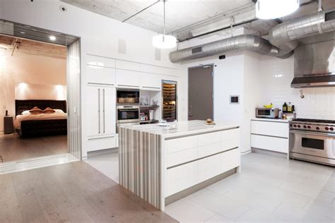 loft apartment in los angeles upon the project of cha col studio