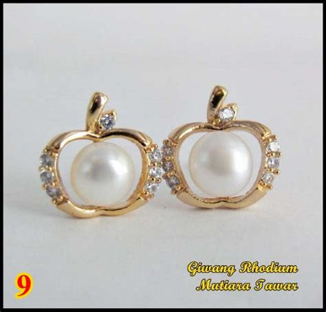 Anting Rhodium Mutiara Air Tawar Lombok 19 anting cantik rhodium mutiara air tawar lombok model ke sembilan 9 apa saja ada